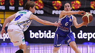 Silvia Dominguez, Spanish Cup Final 2012, Avenida vs. Ros Casares
