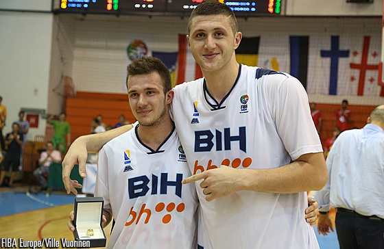 8. Ermin Dedic (Bosnia and Herzegovina), 9. Jusuf Nurkic (Bosnia and Herzegovina)