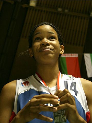 Marielle Amant (FRA), youngest player of the tournament
