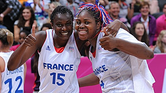 4. Isabelle YACOUBOU (France). 15. Jennifer DIGBEU (France)