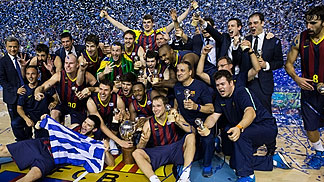 FC Barcelona, 2014 Spanish champions (photo: Germán Parga/FC Barcelona)