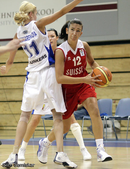 12. Dana Bozovic (Switzerland)