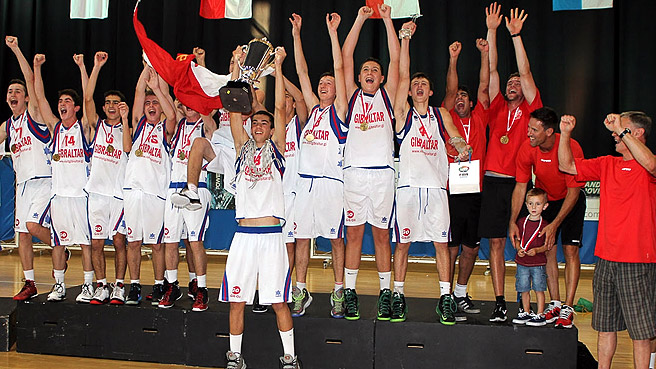 Hosts Gibraltar Win First Gold