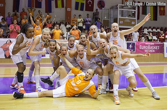 The Netherlands downed Turkey after double overtime in the Quarter-Finals of this years U18 European Championship Women to reach their first ever Semi-Final in this age category.