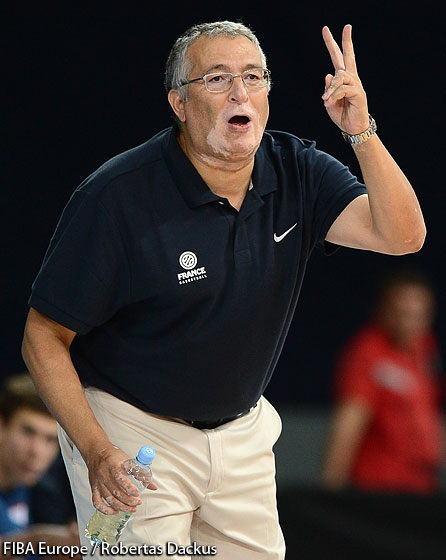 Coach Tahar  Assed-Liegeon (France)
