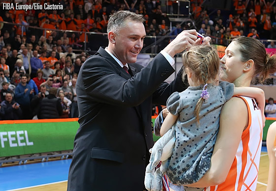 FIBA Europe Secretary General Kamil Novak; 2013 EuroLeague Women Final Eight