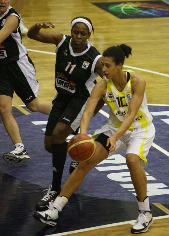 10. Nicole Powell (Fenerbahce), 11. Taj Mc Williams (Frisco Sika Brno)