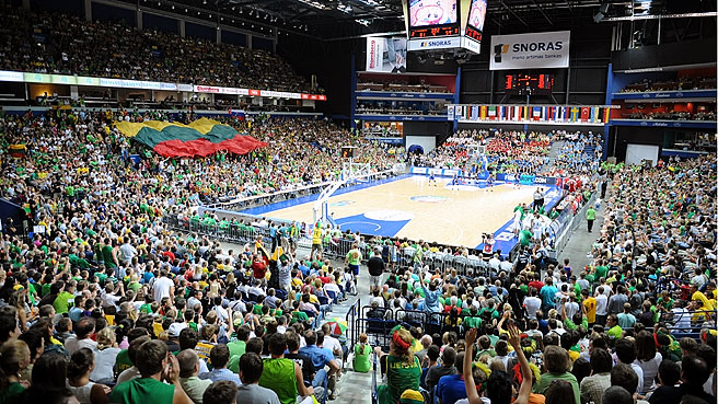 Lithuania Craze Sets New Attendance Record