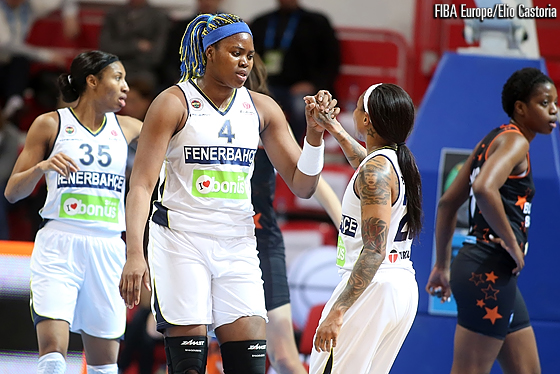 4. Isabelle Yacoubou (Fenerbahce), 23. Cappie Pondexter (Fenerbahce)