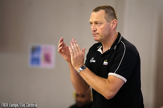Belgium Head Coach Philip Mestdagh