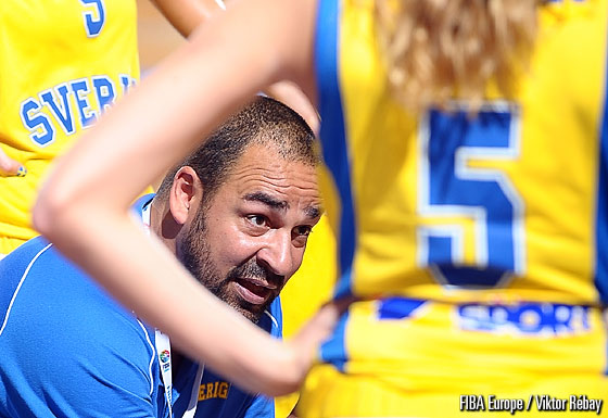 Sweden head coach Jens Tillman