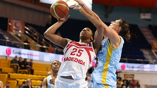 Roundup: More History For Nadezhda