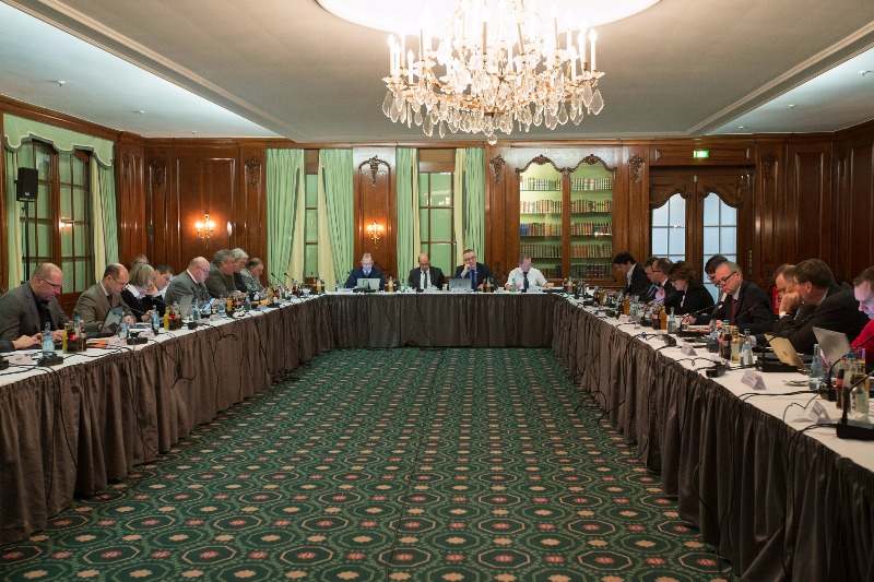 The FIBA Europe Board meets in Munich, Germany