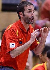 Spain head coach Alfonso Alonso