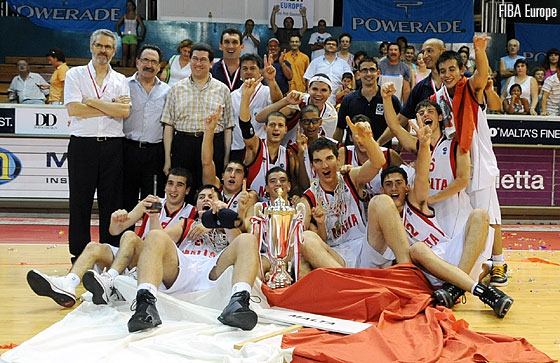 Malta are crowned champions at the U18 European Championship Division C in 2007