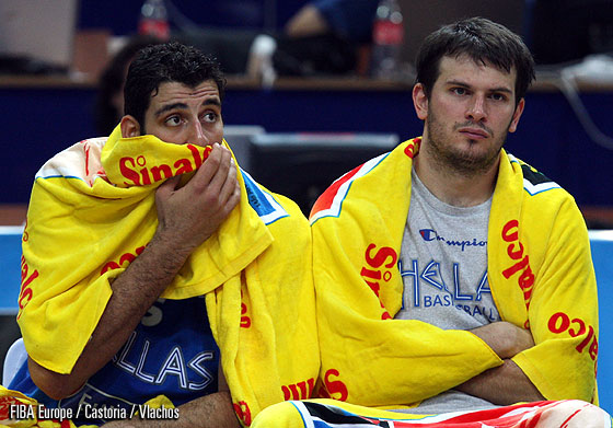 5. Ioannis Bourousis (Greece), 9. Antonios Fotsis (Greece)