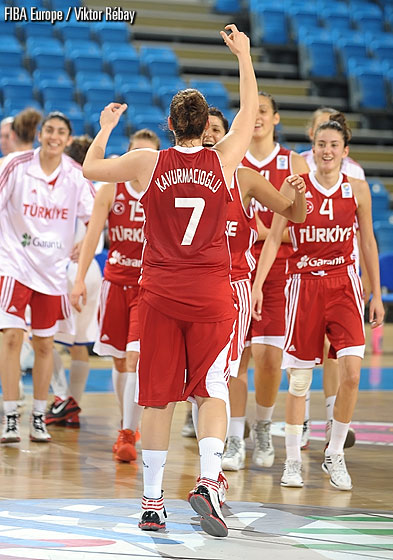 Turkey stay undefeated three games into the tournament