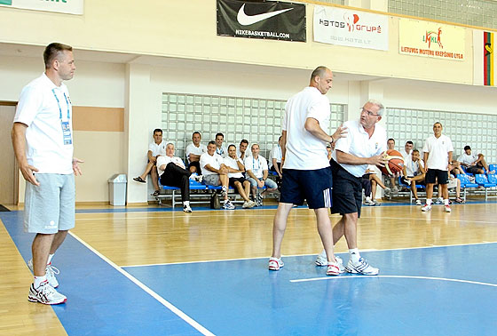 EuroBasket 2011 referee clinic in Vilnius