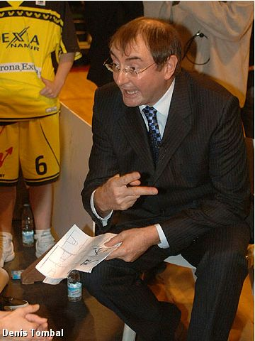 Headcoach Marc Silvert (Dexia Namur)