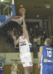 Above the rim: Ivo Kresta