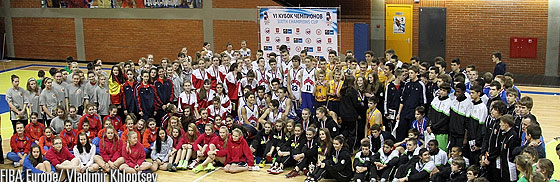 Competing teams at the Sixth Champions Cup