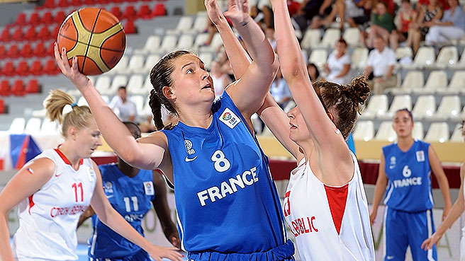 France Finish Fifth After OT Win