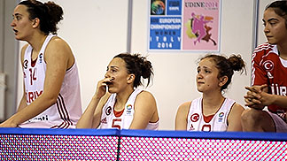 5. Deniz Dogan (Turkey), 14. Hülya Coklar (Turkey)