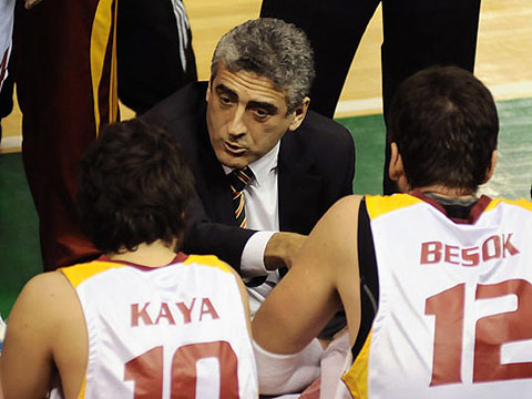 Galatasaray Coach Koray Mincinözlü