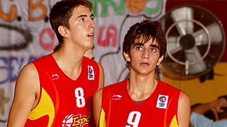 Alberto Jodar and Ricard Rubio (Spain)