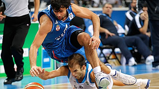 Nick Calathes (Greece), Milos Teodosic (Serbia)