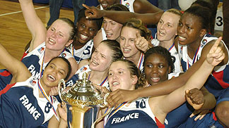 U20 Women 2005 French team