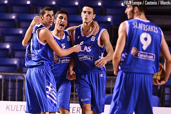 4. Eleftherios Bochoridis (Greece), 5. Giannoulis Larentzakis (Greece), 6. Ioannis Papapetrou (Greece)