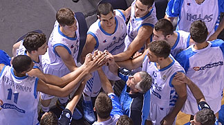 Greece in the huddle