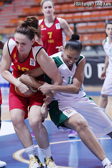 10. Stephanie Wagner (Germany), 11. Lavinia da Silva (Portugal)