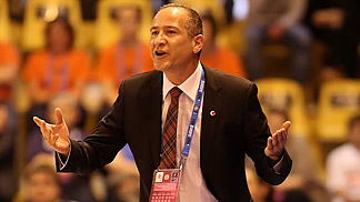 Turkey head coach Ceyhun Yildizoglu