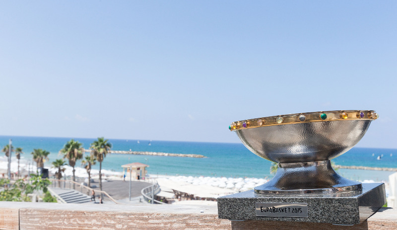 EuroBasket 2015 Trophy Tour in Israel