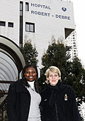 Cathy Melain and Mudju Ngoyisa