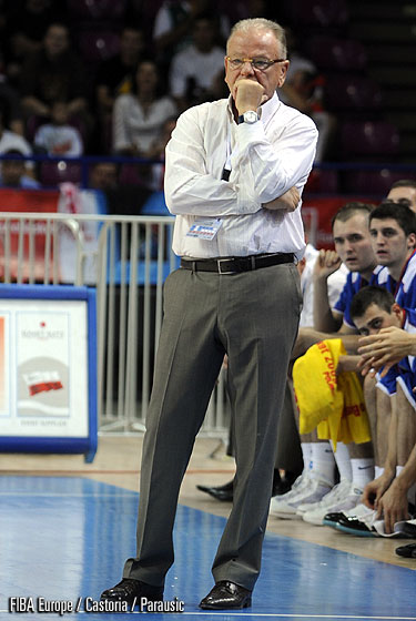 Serbia Head Coach Dusan Ivkovic