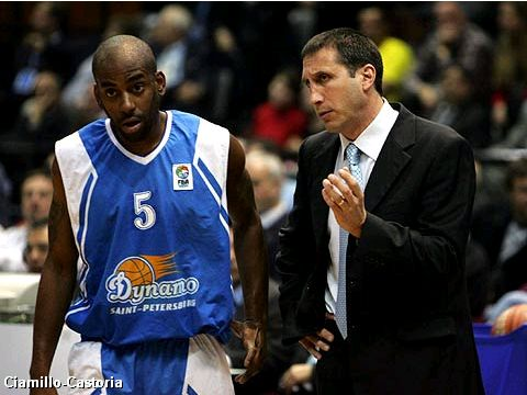 David Blatt and Ed Cota (Dynamo St Petersburg)