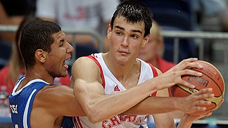 12. Dario Saric (Croatia), 6. Thomas Ceci  (France)
