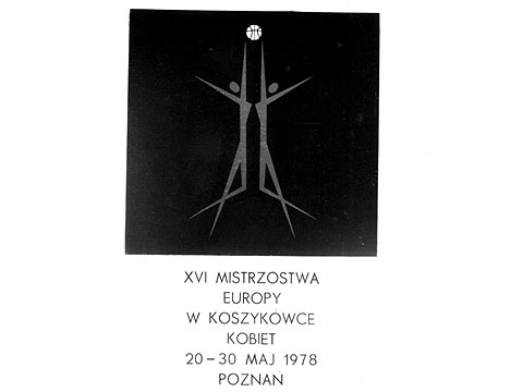 The official logo of the 1978 European Championship for Women in Poland