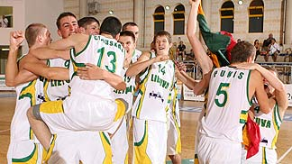 Lithuania celebrates