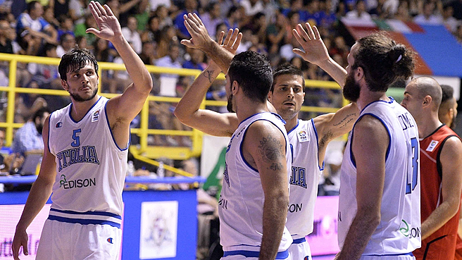 Italy Qualify To EuroBasket In Style