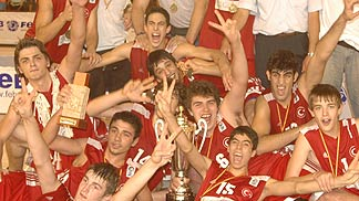 2005 U16 European Champions Turkey