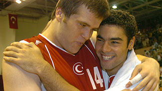 Oguz Savas and Serhat Cetin (Turkey)