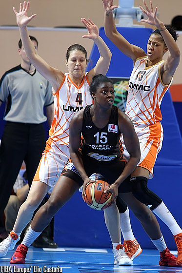 15. Christelle Diallo (Bourges Basket)