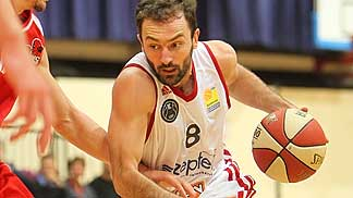 Predrag Miletic of Zepter Vienna in the game against Traiskirchen Lions