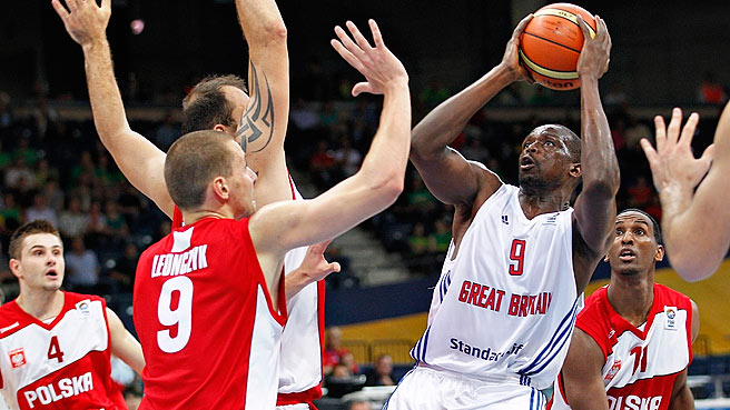 Great Britain Oust Poland