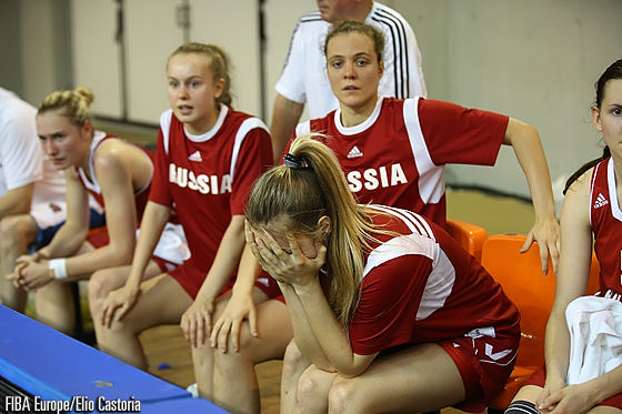 Realisation began to sink in for the Russian bench