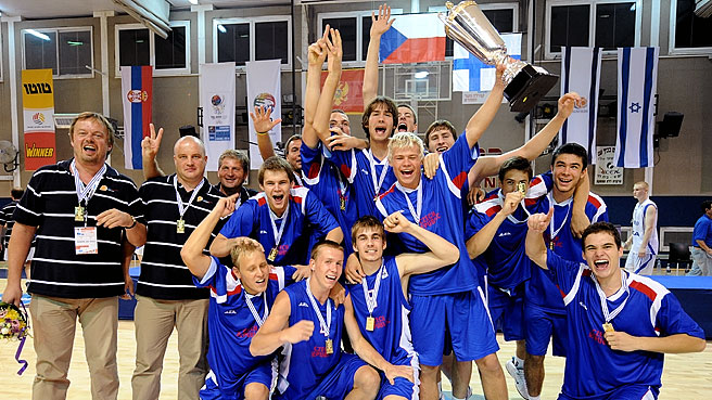 Czechs Take Home Gold Medal